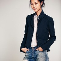 Free People Womens Circle Cut Jacket