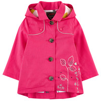 Embroidered linen coat Catimini for babies | Melijoe.com