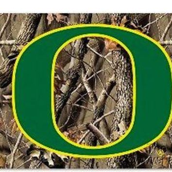 Oregon Ducks 3x5 CAMO Realtree Outdoor Flag w/Grommets Banner University of