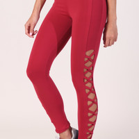 Legging L790 Burgundy