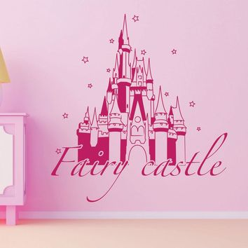Fairy Castle Wall Decal