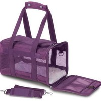 Sherpa The Original Deluxe Pet Carrier Sz: Med Plum