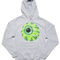 Keep Watch Pullover Hoodie (Heather/Green)