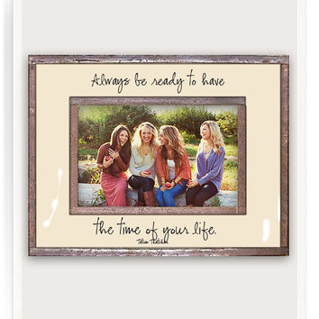 Always Be Ready To Have Copper And Glass Photo Frame
