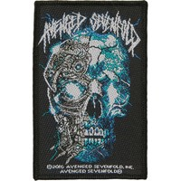 Avenged Sevenfold Men's Biomechanical Woven Patch Multi