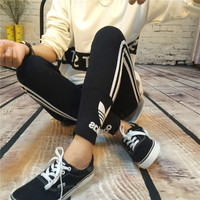 """Adidas"" Print Long Pants Comfy 4 colors Leggings[7587944711]"