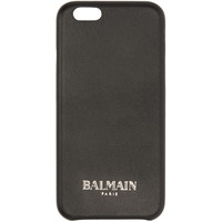 Black Leather iPhone 6 Case