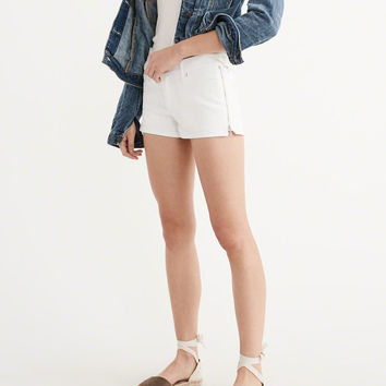Womens Low-Rise Shorts | Womens Bottoms | Abercrombie.com