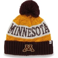 '47 Brand Women's Minnesota Golden Gophers Maroon/Gold Swanson Cuff Knit Hat | DICK'S Sporting Goods