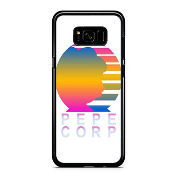 Pepe Aesthetic Pepe Corp White Samsung Galaxy S8 Plus Case