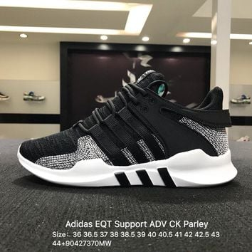 Adidas EQT Support ADV CK Parley Black White Spirit Trainers Sneaker