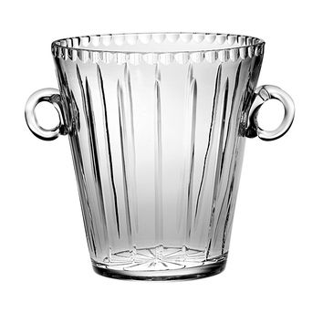 "Majestic Gifts JO-155 Hand Cut Crystal ICE BUCKET 8""H"