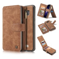 Original luxury Leather Magnetic Wallet Case For Fundas Samsung Galaxy S8 / S8 Plus case For Samsung Galaxy S8Plus S8 case cover
