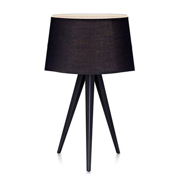 """Euro Style Collection Berlin 20"""" Inch High Tripod Table Lamp"""