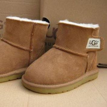 ONETOW Ugg Ankle Boots Toddler size