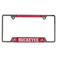 Ohio State Buckeyes - University of Metal License Plate Frame