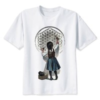 bring me the horizon print casual tshirt mens o-neck t shirts fashion men's tops men T-shirt male men M8086