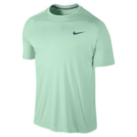 Nike Advantage Crew Men's Tennis Shirt Size Medium (Green)