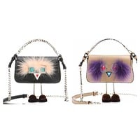 Fendi Micro Baguette Bags with Feets