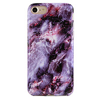 Purple Stone Marble iPhone Case