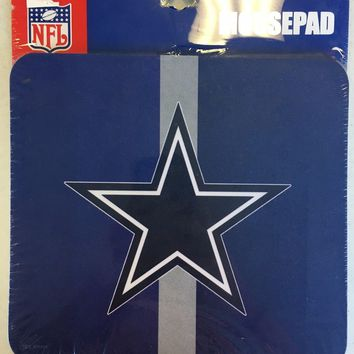 DALLAS COWBOYS LOGO MOUSE PAD HOLIDAY GIFT SHIPPING