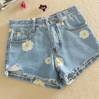 Women Jeans Shorts Pants