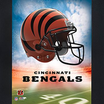 Cincinnati Bengals | 3D Art | LED Back Lighting | Framed | NFL