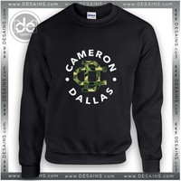 Buy Sweatshirt Cameron Dallas Logo Crewneck Sweatshirts