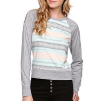 Nollie Jacquard Classic Pullover Top at PacSun.com