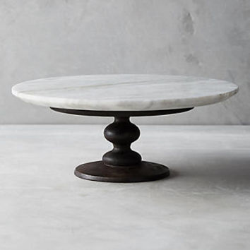 Marblewood Cake Stand