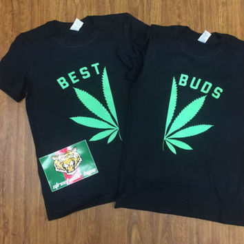Best Buds t-shirt young metro metro boomin yeezus future hip pop notorious big biggie smalls biggie best buds Weed