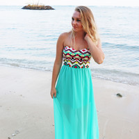 Anguilla Summer Maxi Dress - Last One!