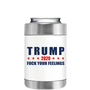 Trump 2020 on White Can and Bottle Cooler