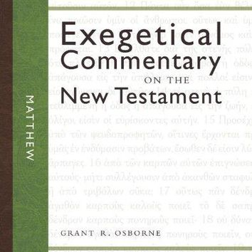 Matthew Zondervan Exegetical Commentary on the New Testament