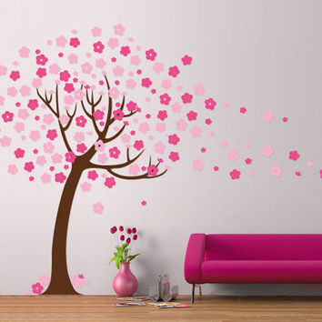 Nursery wall Tree Stencil - 09