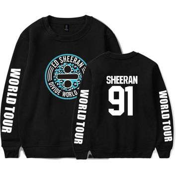 KPOP BTS Bangtan Boys Army  hot sall  ed sheeran Men/Women printing cool pattern trend casual round neck long sleeve Sweatshirt xxs-4xl AT_89_10