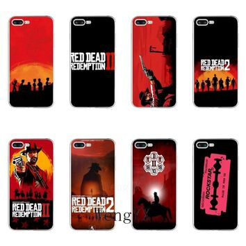 cool game Red Dead Redemption 2 Slim silicone TPU Soft phone case For LG G2 G3 mini spirit G4 G5 G6 K7 K8 K10 2017 V10 V20 V30