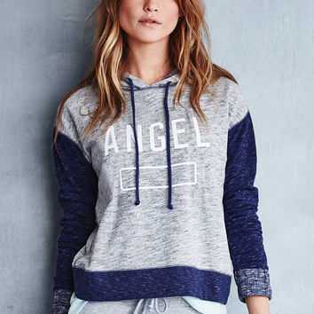 Boxy Crossback Hoodie - Fleece - Victoria's Secret