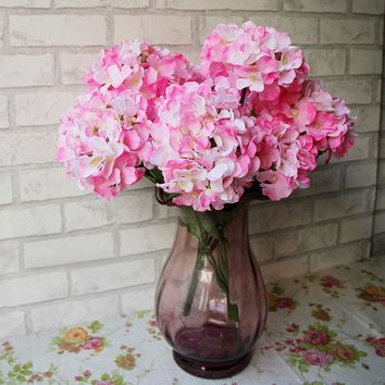 Home Living Room Decorative Ombre Artificial Flowers