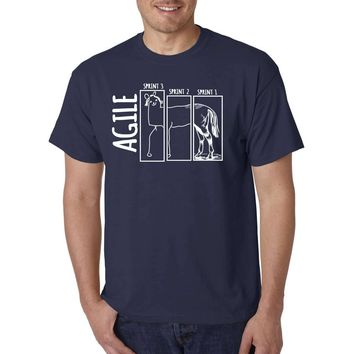 Agile - Scrum, Sprints and Release - Funny T-Shirt