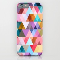 Triangle Mix #5 iPhone & iPod Case by Ornaart