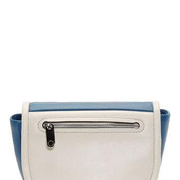 Marc By Marc Jacobs Blue Leather Luna Crossbody Shoulder Bag