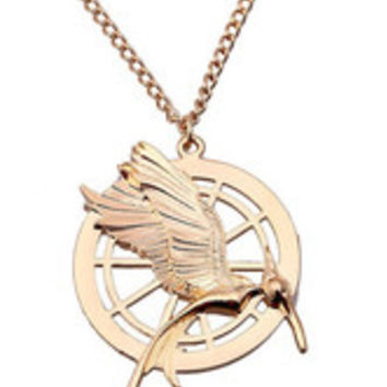 Gold Anime Necklace