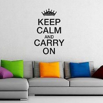 Wall Sticker Vinyl Decal Joke Lettering Quote Great Living Room Decor Unique Gift (ig1151)