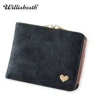 2018 New Woman Wallet Small Hasp Coin Purse For Luxury Brand Lady Purses Female Wallets Women Mini Leather Clutch Card Holder