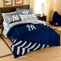 New York Yankees MLB Bed in a Bag (Contrast Series)(Full)