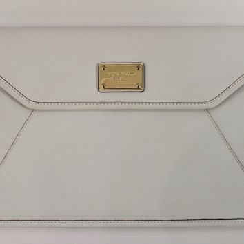 Michael Kors White Laptop Case