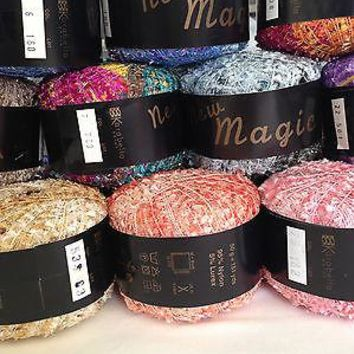 KARABELLA - NEW MAGIC NYLON/LUREX  NOVELTY FLAG YARN