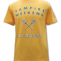 Vampire Weekend Merchandise Store - Vampire Weekend T-Shirts Lacrosse T-shirt