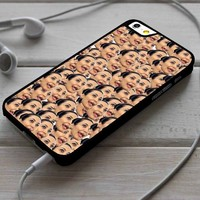 Kim Kardashian Ugly Face Collage iPhone 4/4s 5 5s 5c 6 6plus 7 Case